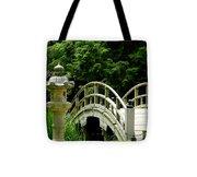 Virginia Bridges -japanese Garden Tote Bag