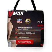 Vmax Male Enhancement Tote Bag
