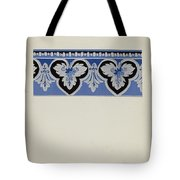 Wall Paper Border Tote Bag