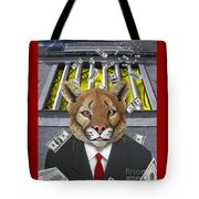 Wall Street Predator Tote Bag