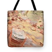 Wash 3 Color In Valley Of Fire Tote Bag