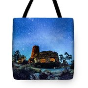 Watchtower Over The Grand Canyon   Arizona Tote Bag