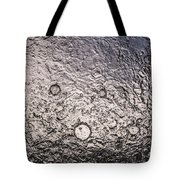 Water Abstraction - Liquid Metal Tote Bag