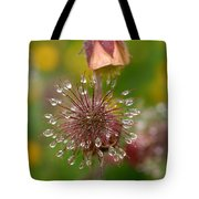 Water Avens Tote Bag