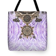 Wave And Jewels Tote Bag