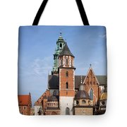 Wawel Cathedral In Krakow Tote Bag
