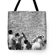 We The People Signing Bicentennial Of The Constitution Tucson Arizona 1987 Tote Bag