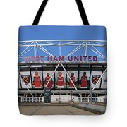 West Ham Fc Stadium London Tote Bag
