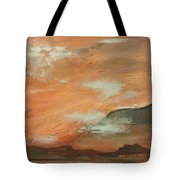 Western Sky Tote Bag by Gregory Dallum