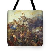 Westward The Course Of Empire Takes Its Way Tote Bag