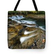 Whitaker Falls In Autumn Tote Bag