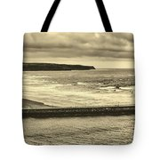 Whitby Harbor Tote Bag