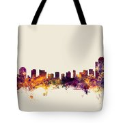 Wilmington Delaware Skyline Tote Bag