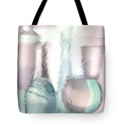 Wine Glasses And Bottles Of Drinks  Tote Bag