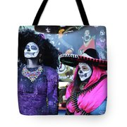 2 Women Day Of The Dead  Tote Bag