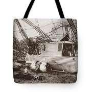 World War I: Zeppelin Tote Bag