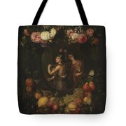 Wreath With Value And Abundance Tote Bag