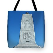 Wright Brothers Memorial Tote Bag