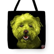 Yellow West Highland Terrier Mix - 8674 - Bb Tote Bag