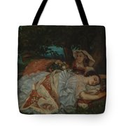 Young Ladies On The Bank Of The Seine Tote Bag