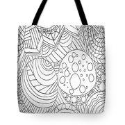 Zendoodle Design Tote Bag