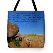 20- Be Grateful Tote Bag