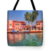 Burano Venice Italy Tote Bag