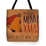 Christmas Greetings Tote Bag