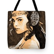 Episode 2 Star Wars Art Tote Bag