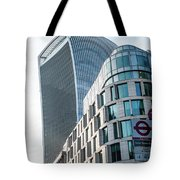 20 Fenchurch Street A Commercial Skyscraper In London Tote Bag