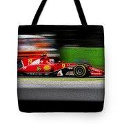 Ferrari Formula 1 Monza Tote Bag