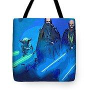 Star Wars Saga Art Tote Bag
