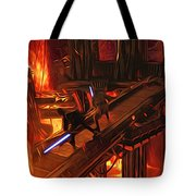 Video Star Wars Art Tote Bag