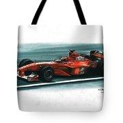 2000 Ferrari F1-2000 Tote Bag