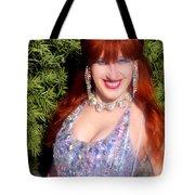 20000 Dollar Dress Of Sofia Metal Queen Tote Bag