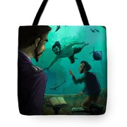 20000 Leagues Under The Sea Tote Bag