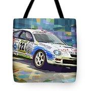 2002 Slovnaft Valasska Rally Toyota Celica Gt Four Liska Jugas  Tote Bag