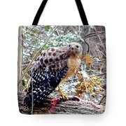 2005-hawk And Snake Tote Bag