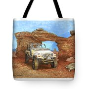 2005 Jeep Rubicon 4 Wheeler Tote Bag