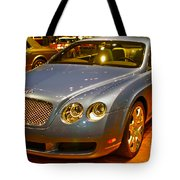 2006 Chicago 2006 Bentley Continental Gtauto Show Tote Bag