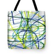 2007 Abstract Drawing 5 Tote Bag