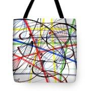 2007 Abstract Drawing 7 Tote Bag