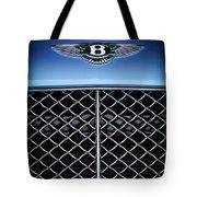 2007 Bentley Continental Gtc Convertible Hood Ornament Tote Bag