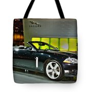 2007 Jaguar Xkr Convertible R No 1 Tote Bag