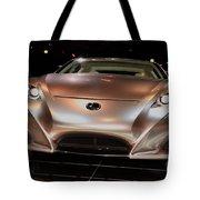 2007 Lexus Lf-a Exotic Sports Car Concept No 2 Tote Bag