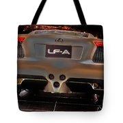 2007 Lexus Lf-a Exotic Sports Car Concept No 3 Tote Bag