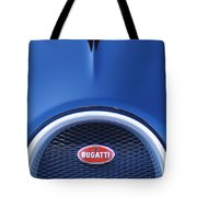 2008 Bugatti Veyron Hood Ornament Tote Bag