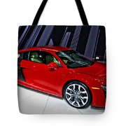 2009 Audi R8 Number 1 Tote Bag