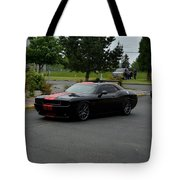 2009 Challenger Rt Lind Tote Bag