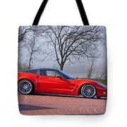 2009 Chevrolet Corvette Zr 1 Tote Bag